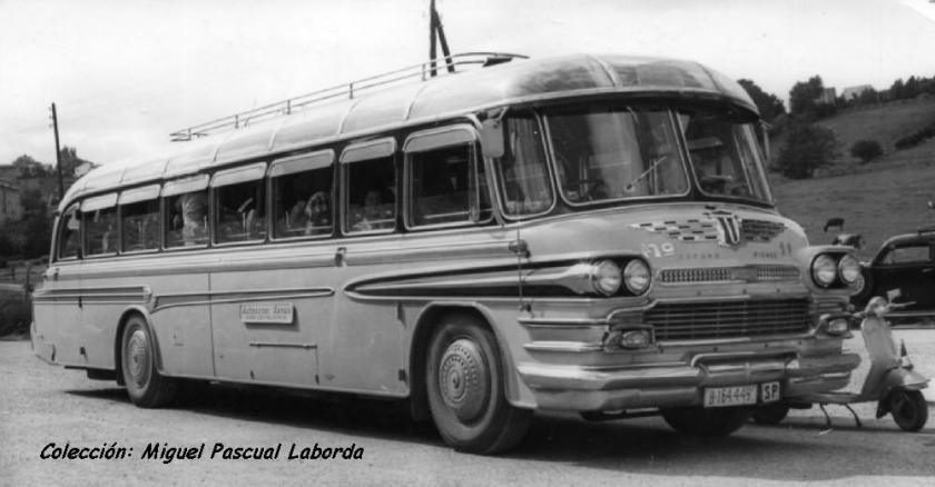 1958 Pegaso matriculado en mayo AYATS