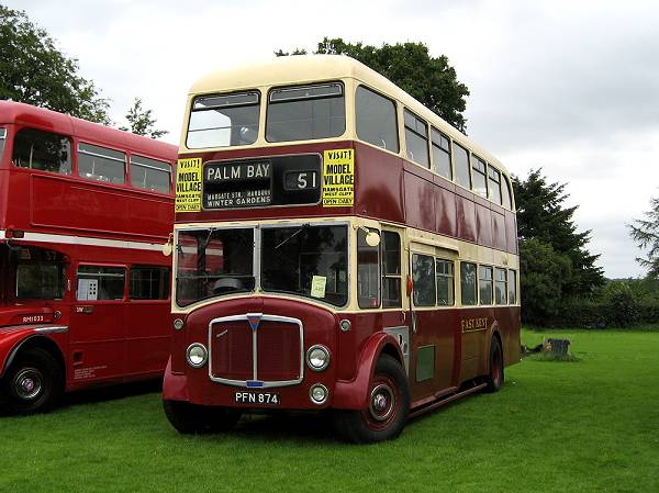 1959 AEC Regent V with Park Royal FH40-32F body