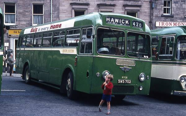 1959 AEC Reliance 2MU3RV with Park Royal C41F bodywork