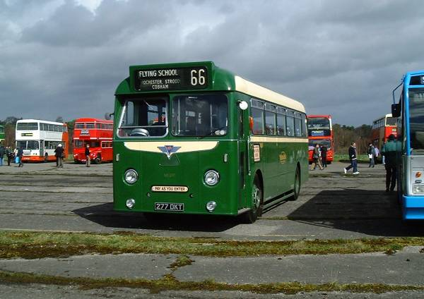 1959 AEC Reliance 2MU3RV with Park Royal DP40F body 1
