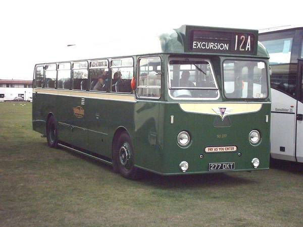 1959 AEC Reliance 2MU3RV with Park Royal DP40F body