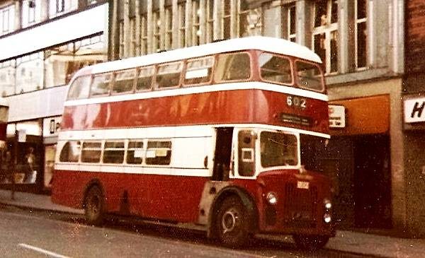 1959 Leyland Titan PD3-2 with Northern Counties bodywork