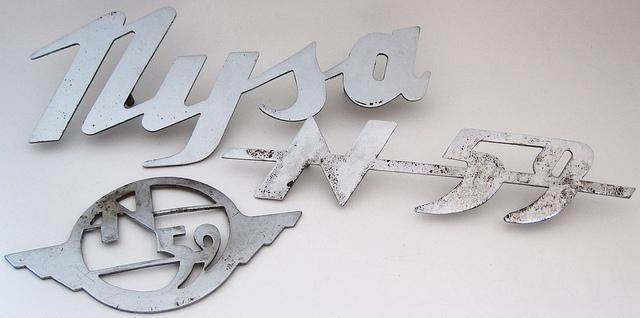 1959 Nysa N59 emblems