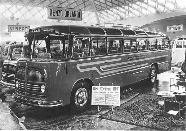1959 OM Orione 500T Renzo orlandi
