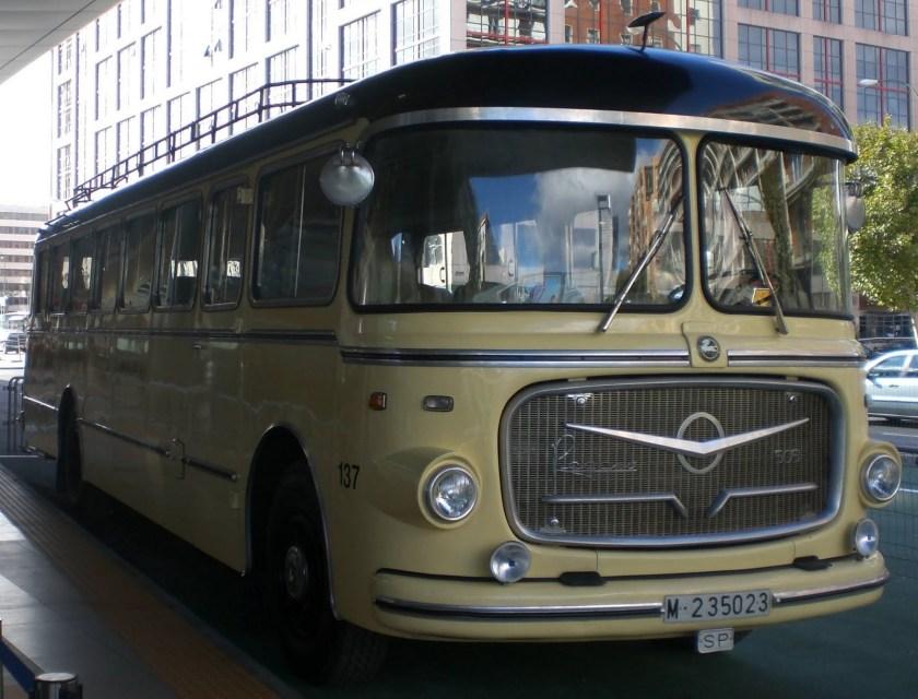 1959 Pegaso, Z-408 - 1(5051). 10,170 cc, 165 Horsepower