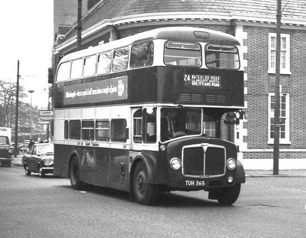 1960 AEC Bridgemaster B3RA with Park Royal H41-27RD