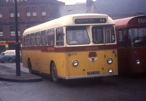 1960 AEC Reliance 2MU3RV with Park Royal B45F bodywork