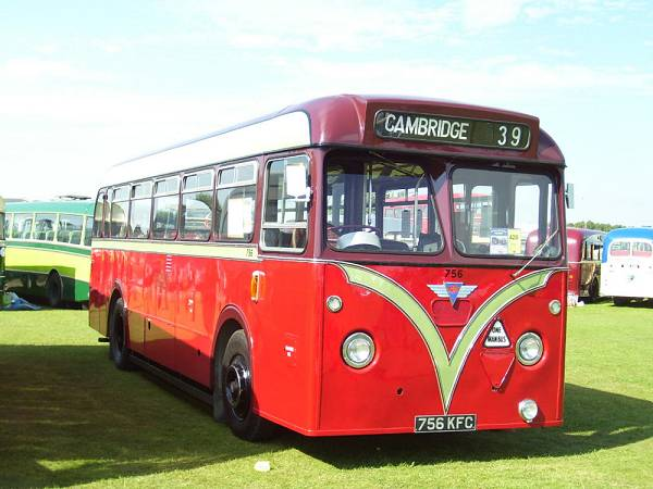 1960 AEC Reliance-Park Royal B44F