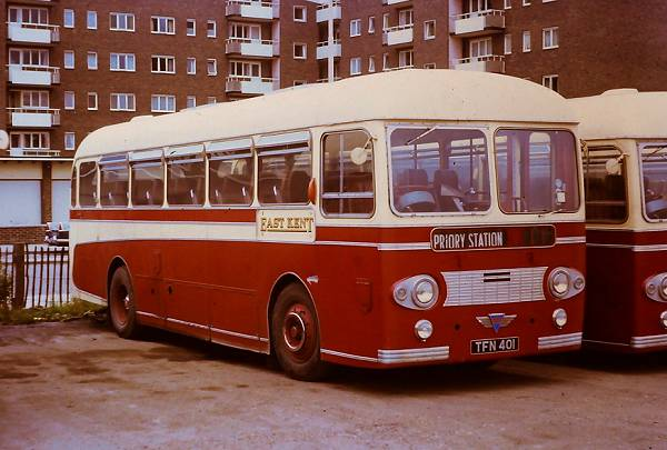 1960 AEC Reliance Park Royal DP41F