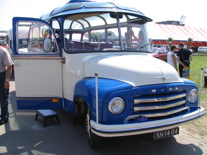 1960 Opel Blitz bus SN-14-04