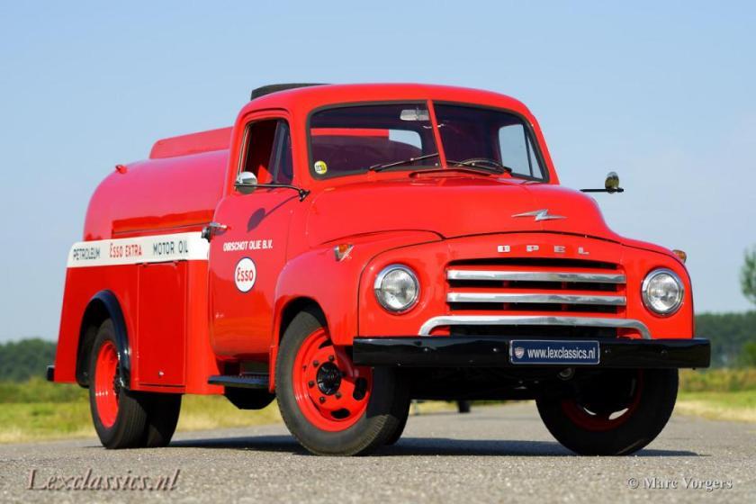 1960 Opel Blitz tankwagen