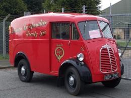 1960 WBK 390 Morris JB Type Van