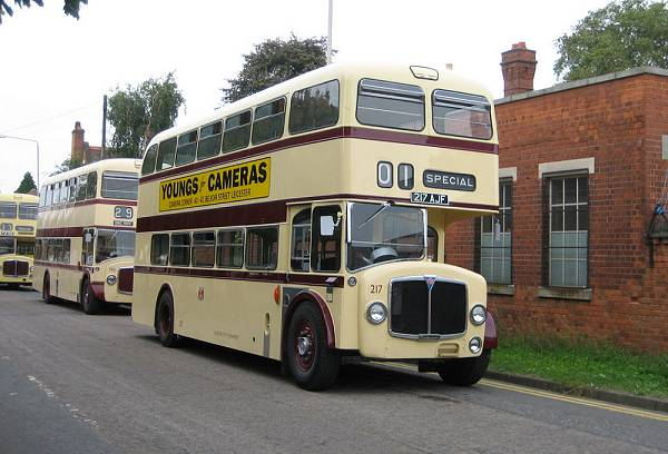 1961 AEC Bridgemaster with Park Royal H45-31R body