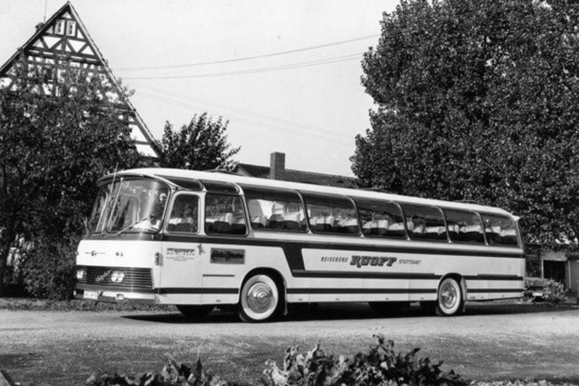 1961 Auwärter Neoplan NH 14 Typ Hamburg für RUOFF 1961 later de NH16