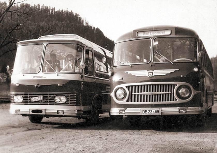 1961 Auwärter Neoplan Typ Hamburg Prototyp Generationen-Treffen