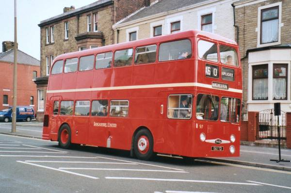 1962 Daimler Fleetline bodied by Northern Counties