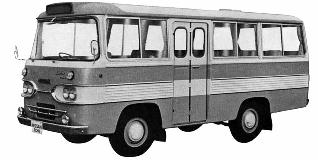 1962 Nissan Caball Bus