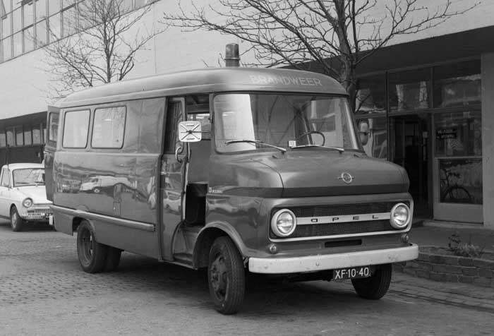 1962 Opel Blitz 2,1 t, autobus XF-10-40