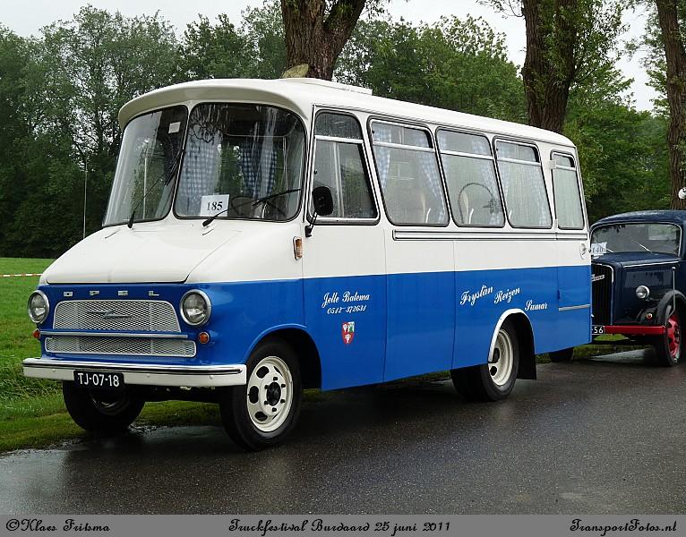 1962 Opel Blitz Friesland