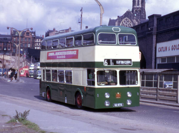 1963 Daimler Fleetline CRG6LX-30 with Northern Counties H44-33F bodywork