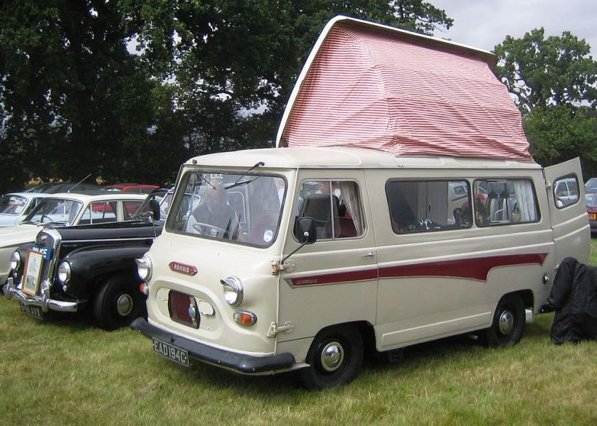 1964-75 Morris J4 based Dormobile reg 1965