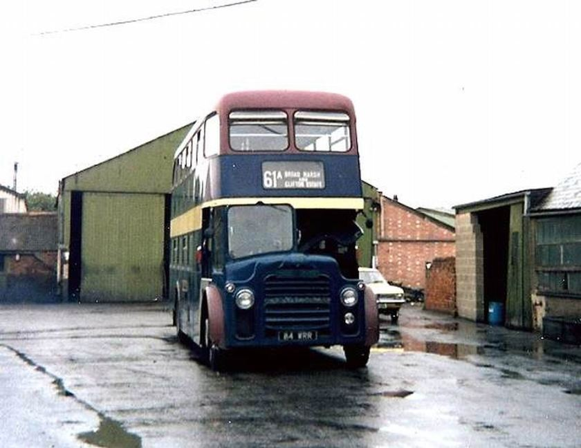 1964 Albion Lowlanders with Northern Counties bodywork