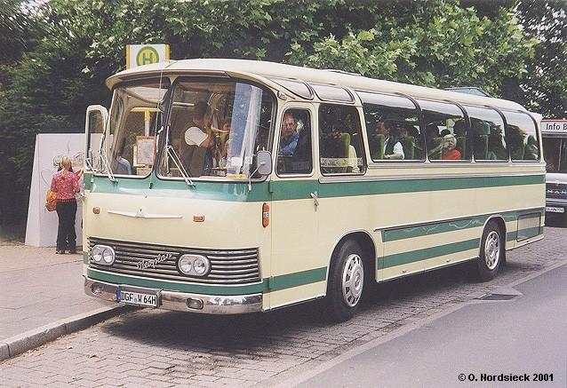 1964 Neoplan Nh 9 Typ Hamburg Reisebus Kurz Jpg