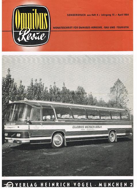 1964 NEOPLAN NH16 Omnibus Revue