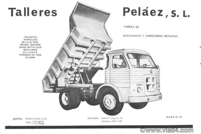 1964 Pegaso Comet pelaez