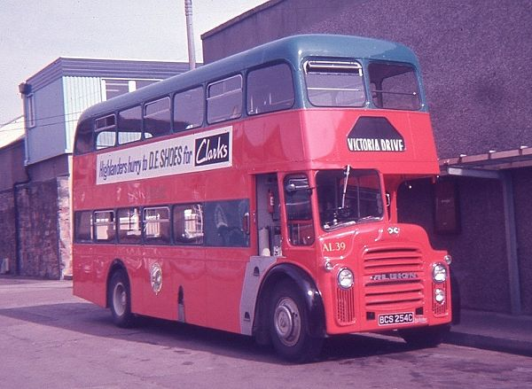 1965 Albion Lowlander LR7 with Northern Counties H39-30F bodywork