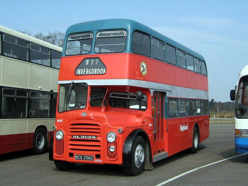 1965 Albion Lowlander with NCME H39-30F body