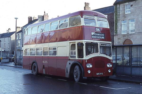1965 Leyland Titan PD3-4 with Northern Counties FH39-30F bodywork a