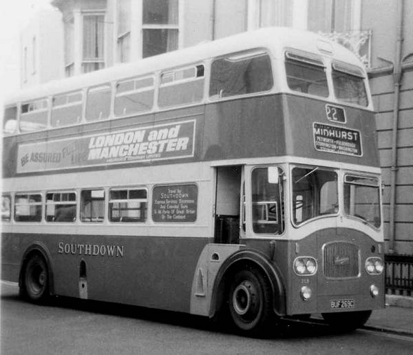 1965 Leyland Titan PD3-4 with Northern Counties FH39-30F bodywork
