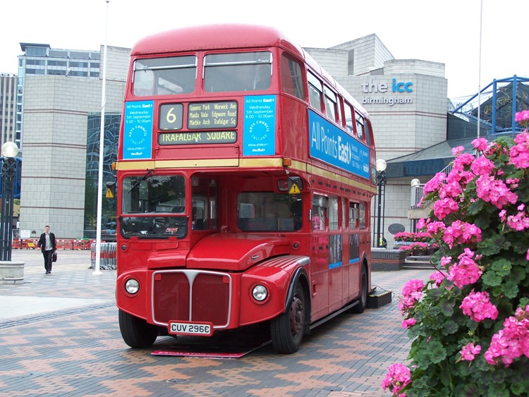 1965 Park Royal Routemaster UK
