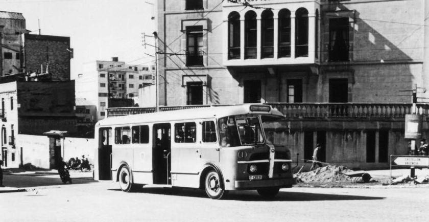 1965 Pegaso trolleybus 0185