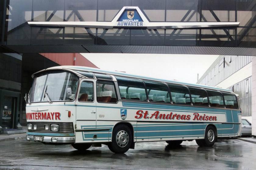 1966 Auwärter Neoplan Busse aus Stuttgart Typ Hamburg NH 16 L Wintermayr