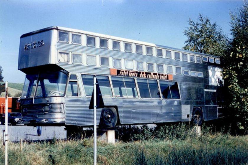 1966 Auwärter NEOPLAN ROTEL - Altersruhesitz auf dem Betriebshof