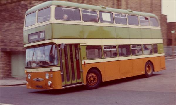 1966 Daimler Fleetline-Northern Counties H33-41F