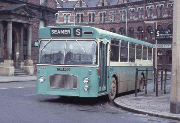 1966 Leyland Panther Cub PSRC1-1 with Northern Counties B44F bodywork