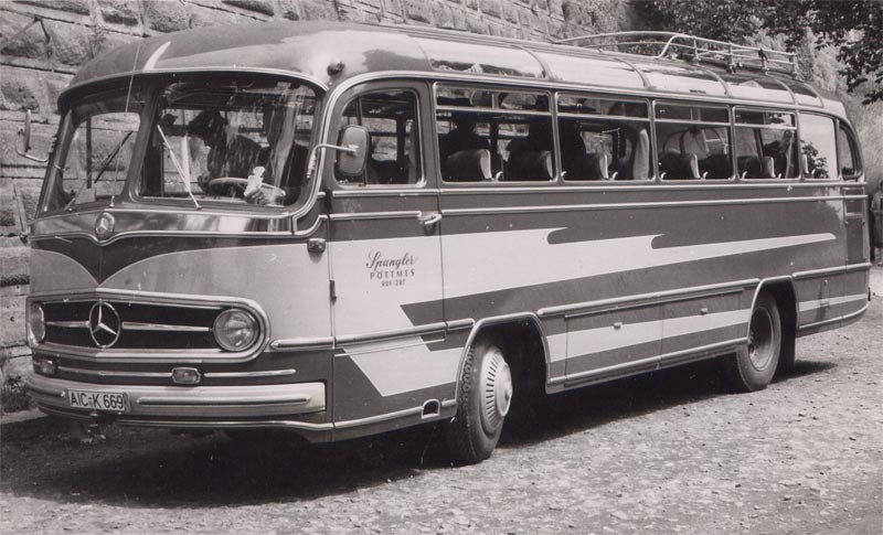 1966 Mercedes Benz Ottenbacher Karr.