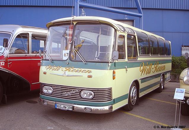 1966 Neoplan NH 9 Typ Hamburg Reisebus (kurz) 19h