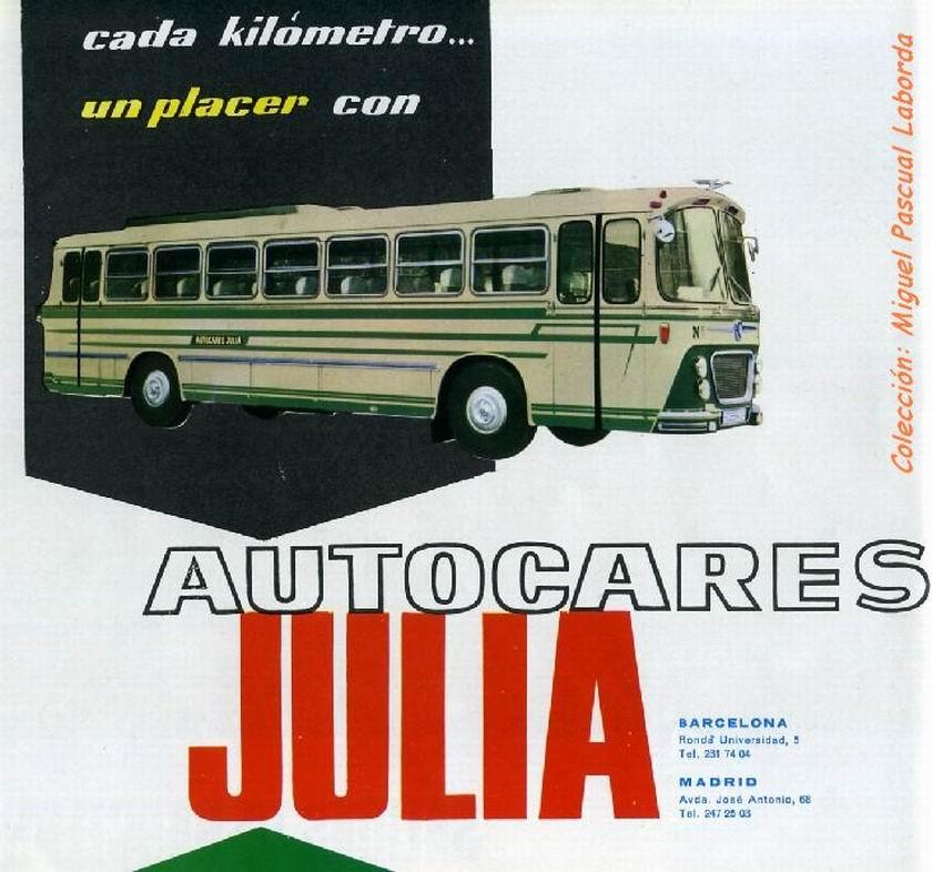 1966 Pegaso autocares JULIA