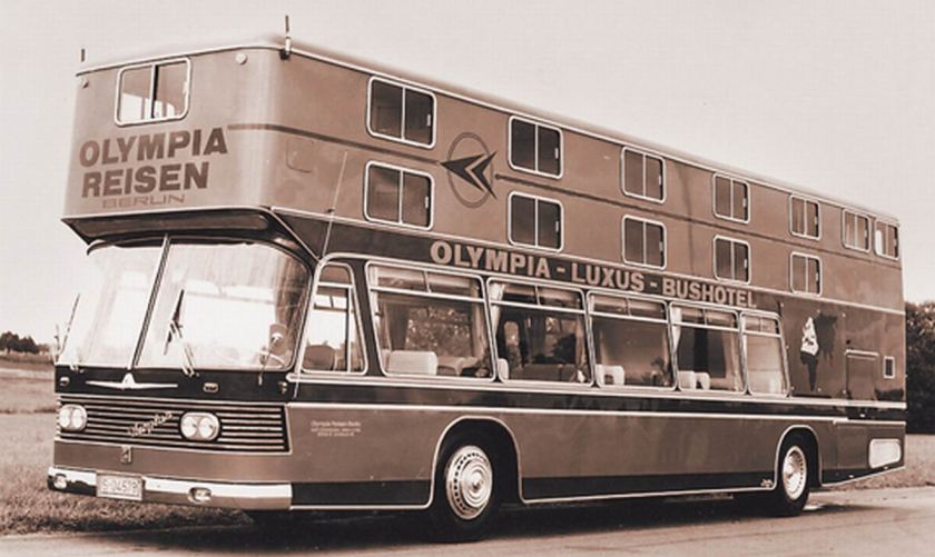 1967 Auwärter Neoplan Hotelbus Typ Hamburg OLYMPIA Berlin