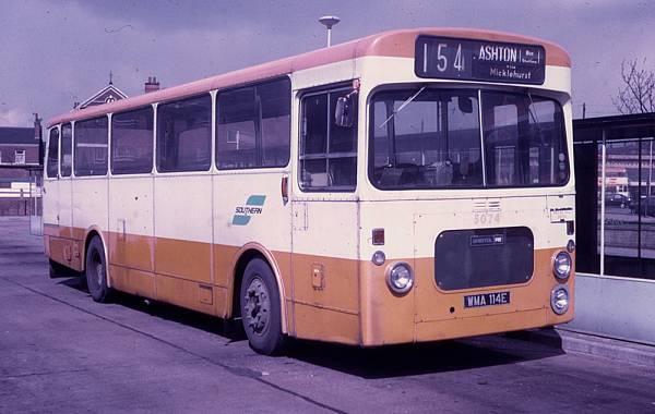 1967 Bristol RESL6G with Northern Counties B43F bodywork