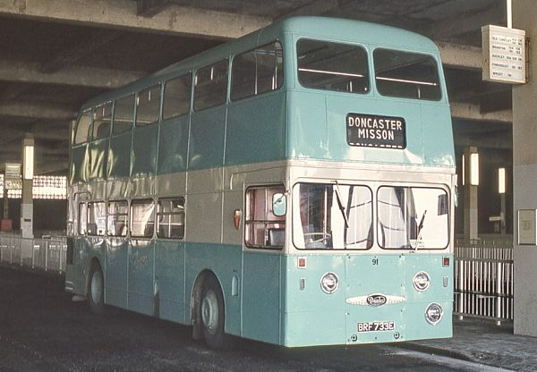 1967 Daimler Fleetline CRG6LX with Northern Counties H44-33F bodywork