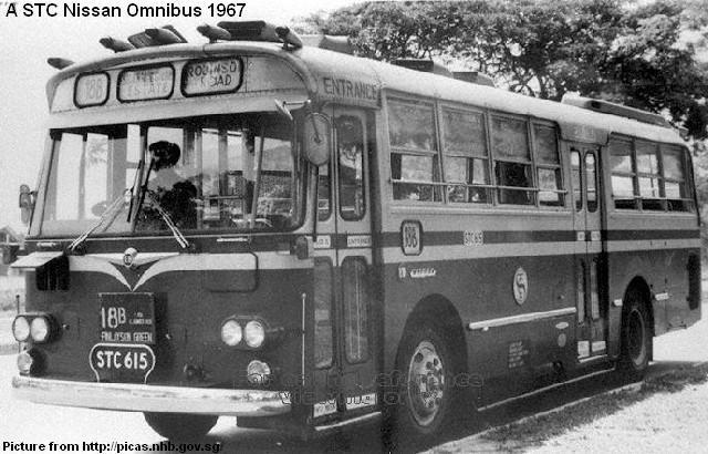 1967 singapore-traction-company-nissan-omnibus