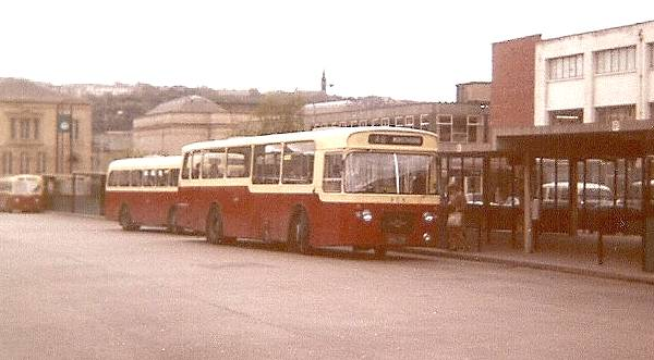 1968 Leyland Panthers with Northern Counties bodywork