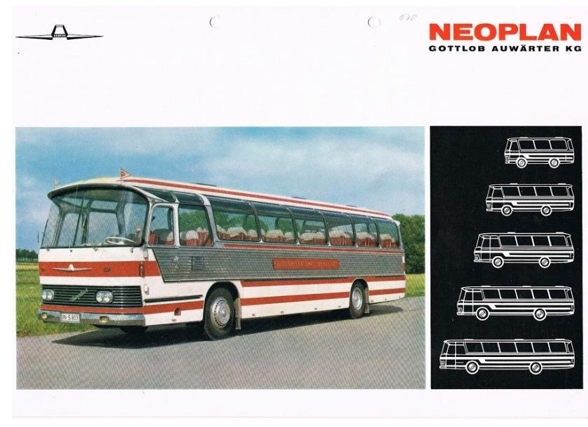 1968 NEOPLAN NB6, NB8, NB10, NB12, NB16