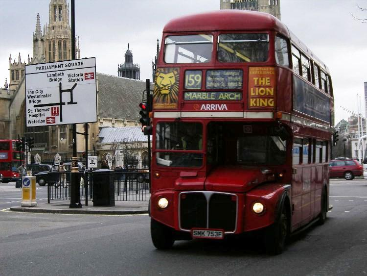 1968 Park Royal Routemaster UK