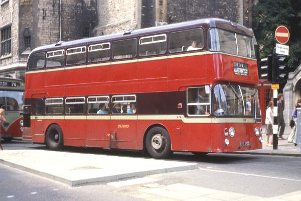 1969 Daimler Fleetline 376, KFC376G, bodied by Northern Counties